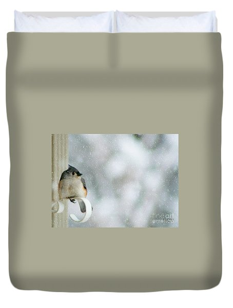 Up Front Duvet Cover by Barbara S Nickerson
