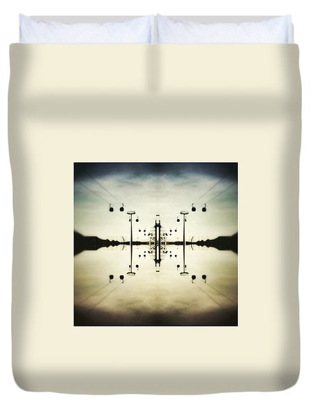 Up In The Sky Duvet Cover by Jorge Ferreira