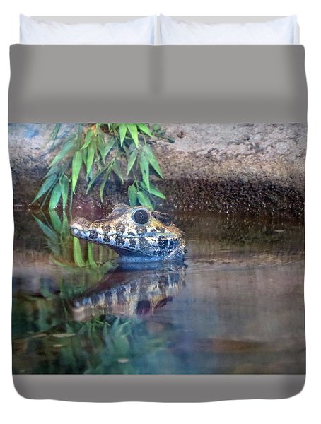 Up Out Of Water Duvet Cover