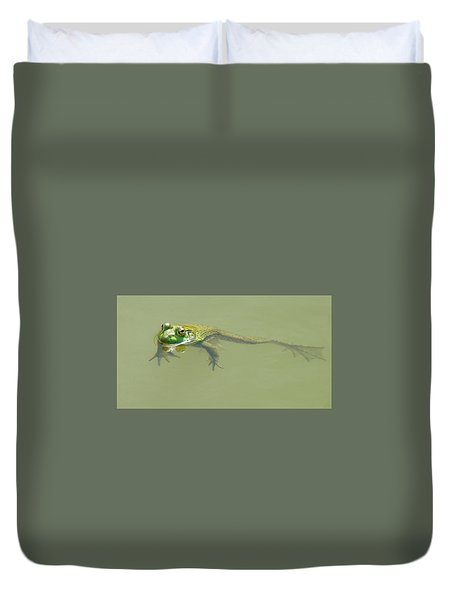 Up Periscope Duvet Cover