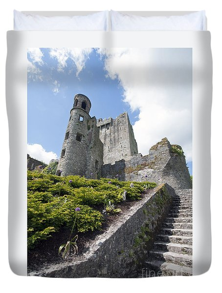 Up To Blarney Castle Duvet Cover