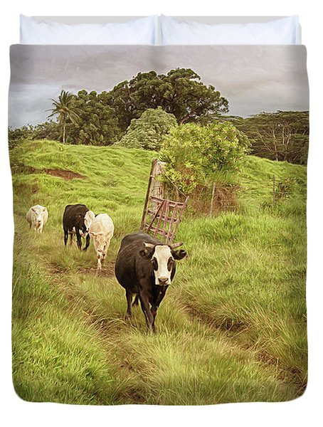 Upcountry Ranch Duvet Cover