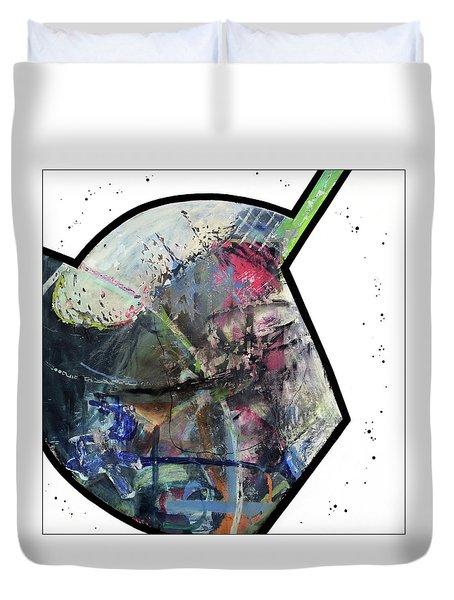 Upgrade Your Imagination  Duvet Cover by Antonio Ortiz