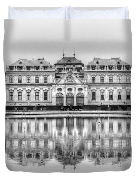 Upper Belvedere Palace, Vienna Duvet Cover