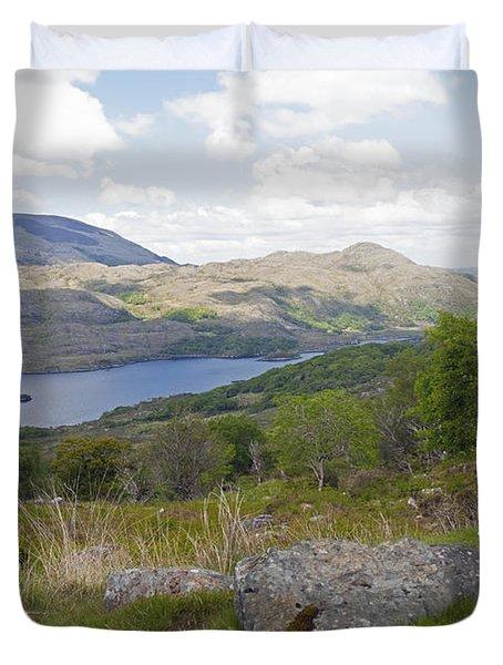 Upper Lake Killarney National Park Duvet Cover