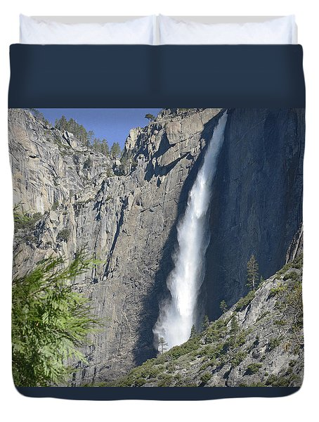 Upper Yosemite Falls Duvet Cover