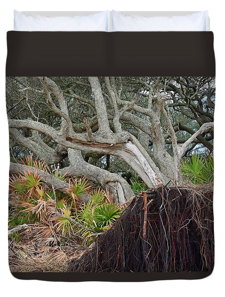 Uprooted Duvet Cover by Bruce Gourley