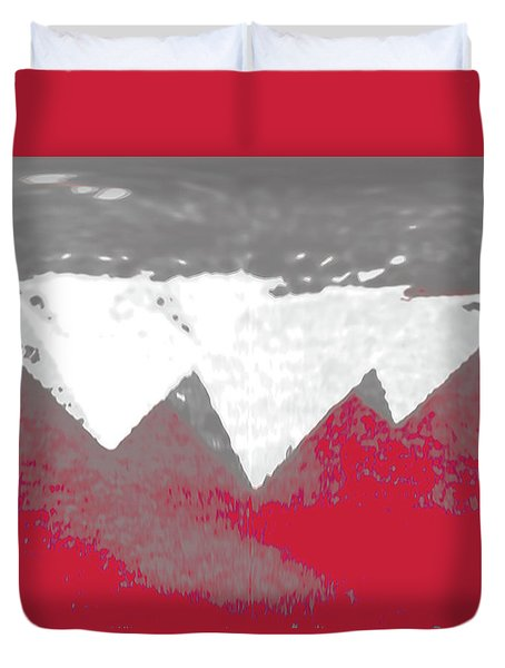 Upside Down Duvet Cover