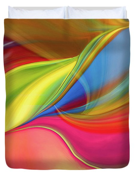 Upside Down Inside Out Duvet Cover