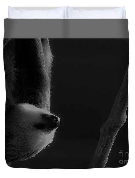 Upside Down Sloth Duvet Cover