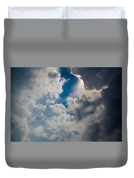 Upward Duvet Cover