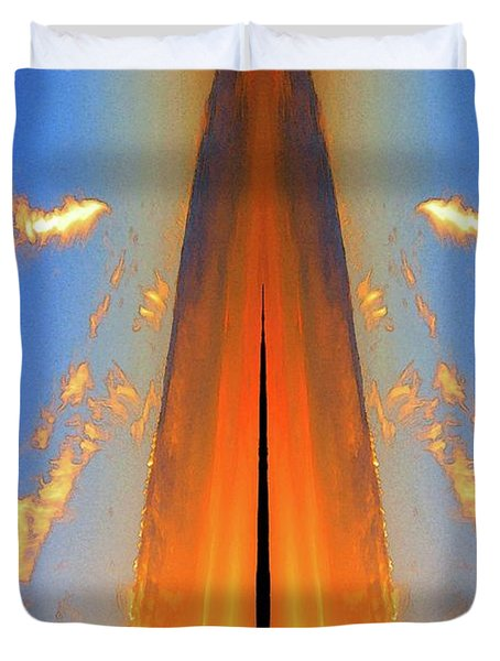 Upwards Two  Duvet Cover