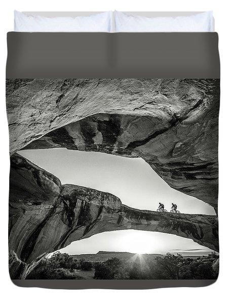 Uranium Arch Duvet Cover