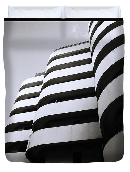 Urban Alienation Duvet Cover