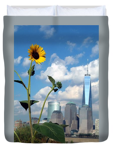 Urban Contrast Duvet Cover by Michael Dorn