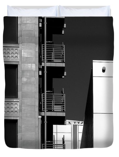 Urban Contrasts Duvet Cover