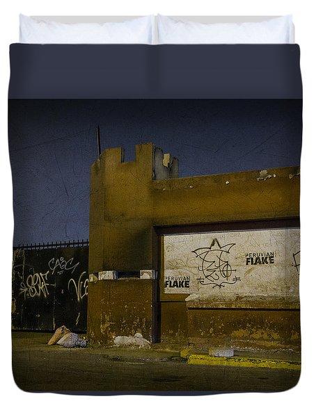 Urban Decay In Lima, Peru Duvet Cover