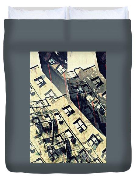 Urban Distress Duvet Cover by Sarah Loft