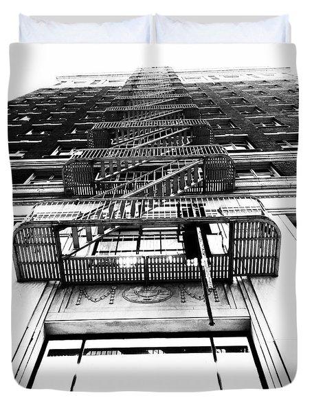 Urban Egress Duvet Cover