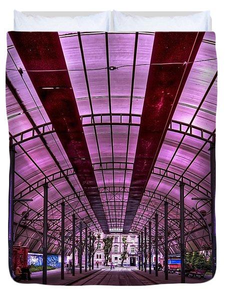 Urban Express Duvet Cover by Evelina Kremsdorf