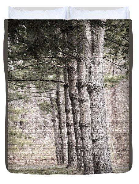 Urban Forestry Duvet Cover
