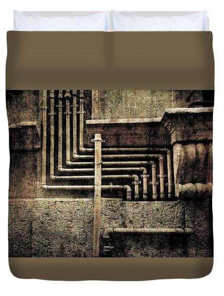 Urban Geometries Duvet Cover