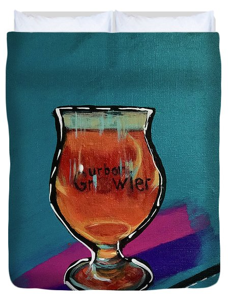 Urban Growler Duvet Cover