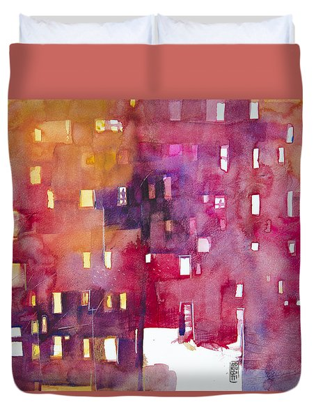 Urban Landscape 3 Duvet Cover by Alessandro Andreuccetti