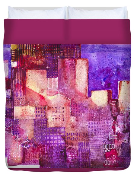 Urban Landscape 4 Duvet Cover by Alessandro Andreuccetti