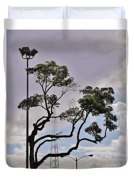 Urban Nature Duvet Cover by Craig Wood