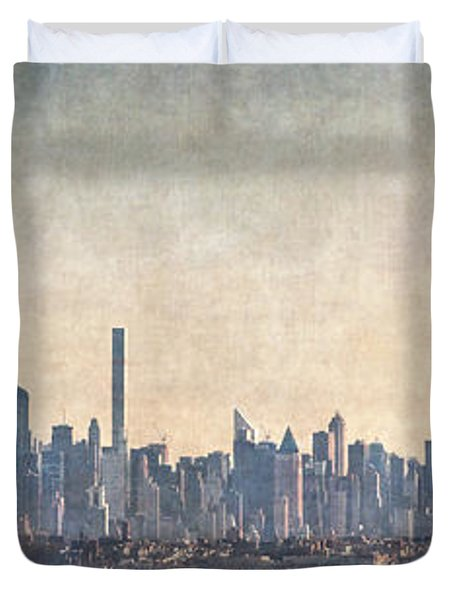 Urban Panorama Duvet Cover