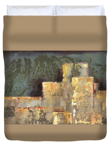 Urban Renewal II Duvet Cover