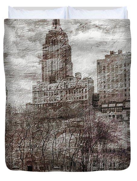 Urban Rush Duvet Cover