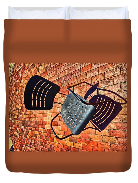 Urban Seating  Duvet Cover