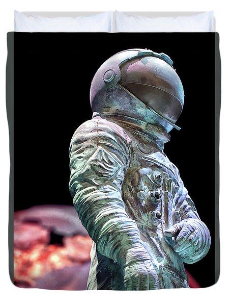 Urban Spaceman Duvet Cover