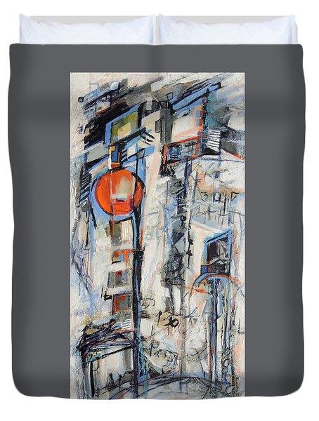 Urban Street 1 Duvet Cover by Mary Schiros