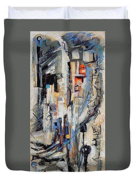 Urban Street 2 Duvet Cover by Mary Schiros