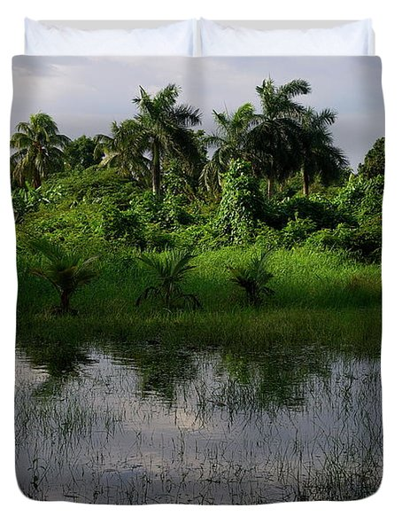 Urban Swamp Duvet Cover