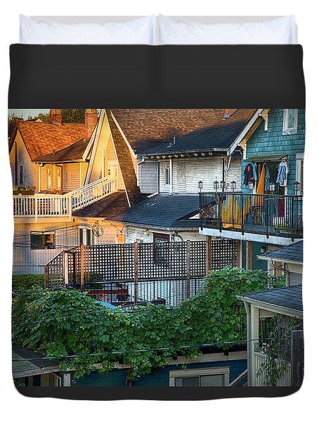 Urban Vancouver Duvet Cover by Theresa Tahara