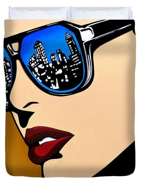 Urban Vision Duvet Cover