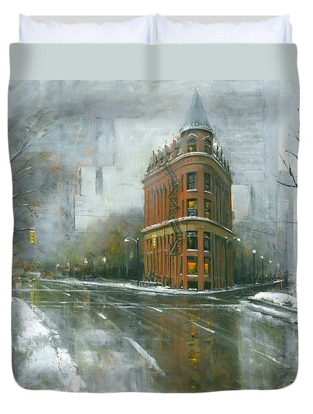 Urban Winter Duvet Cover