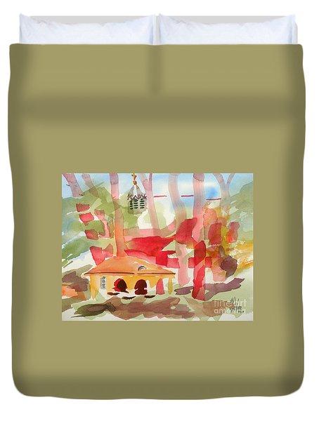 Ursuline Impressions Duvet Cover by Kip DeVore