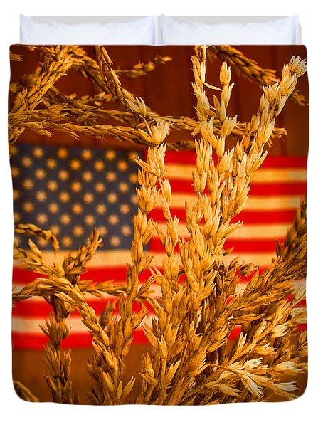 U.s. Wheat Duvet Cover