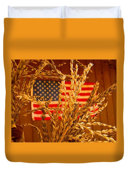 U.s. Wheat Duvet Cover