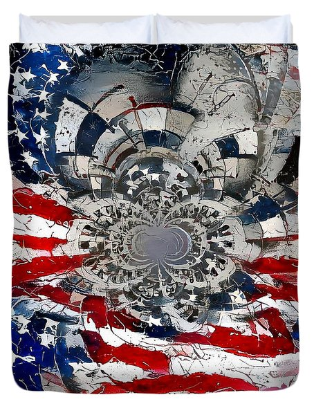 Usa Patriot Duvet Cover