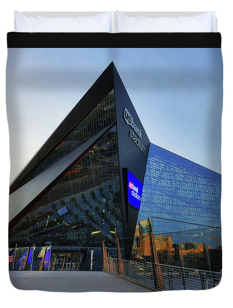 Usbank Stadium The Approach Duvet Cover