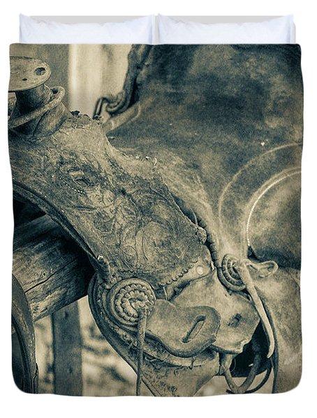 Used Saddle Duvet Cover