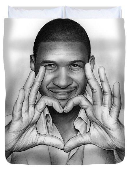 Usher Duvet Cover