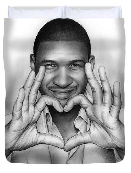 Usher Duvet Cover by Greg Joens