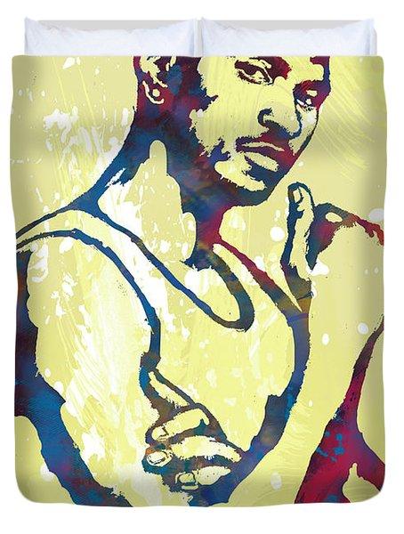 Usher Raymond Iv  -  Pop Art Sketch Poster Duvet Cover